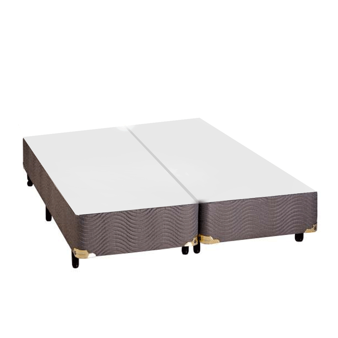 Base Para Cama Box Queen Sankonfort Action Marrom