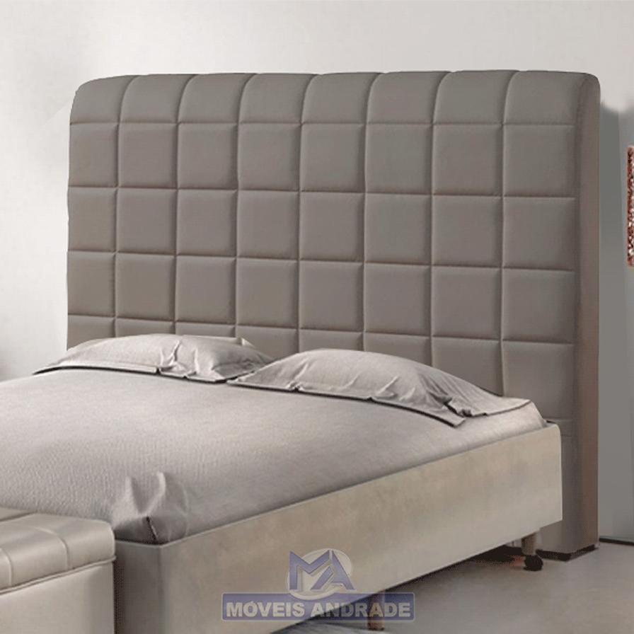 Cabeceira Estofada Casal Plataforma MP023