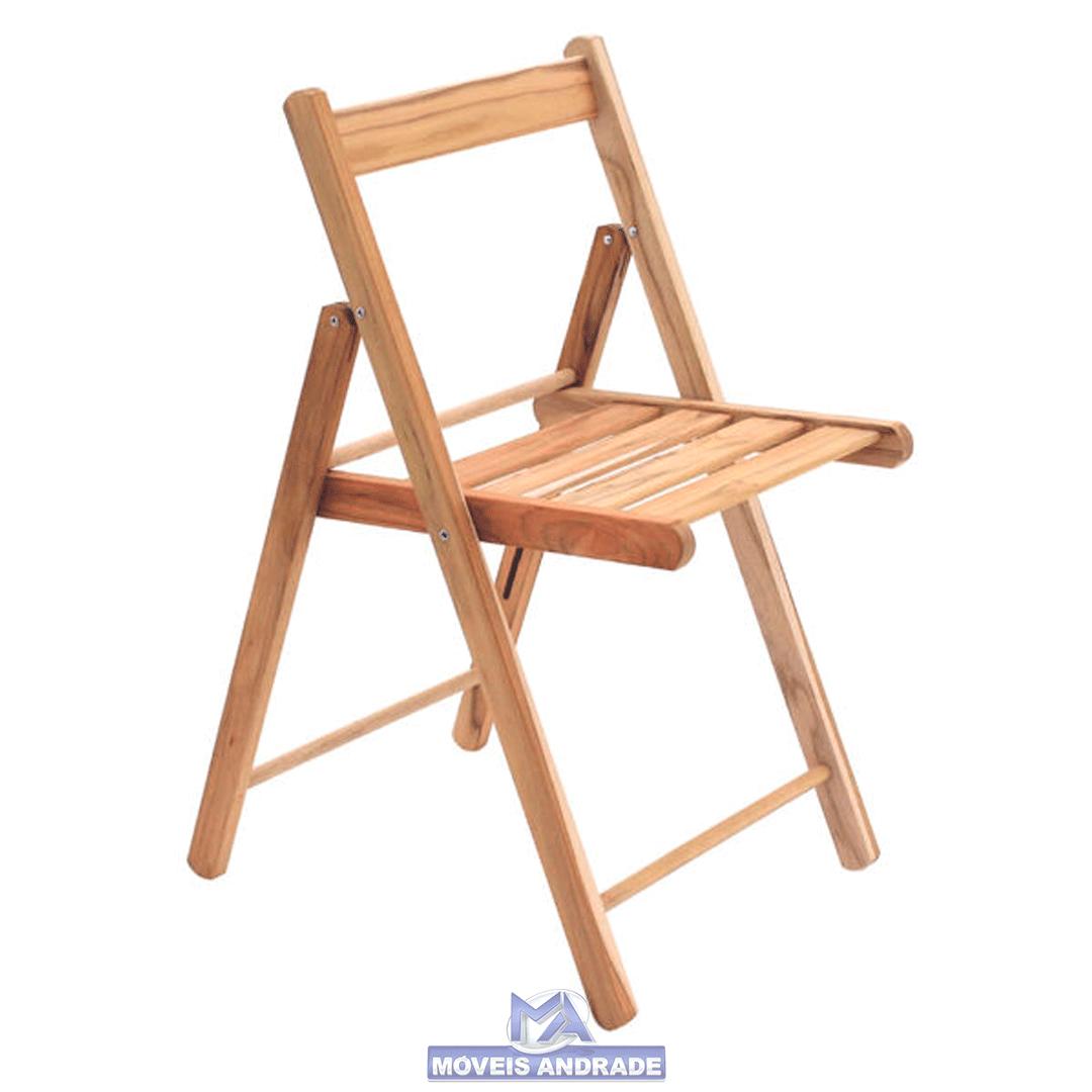 Cadeira Dobrável Tramontina Lille Madeira