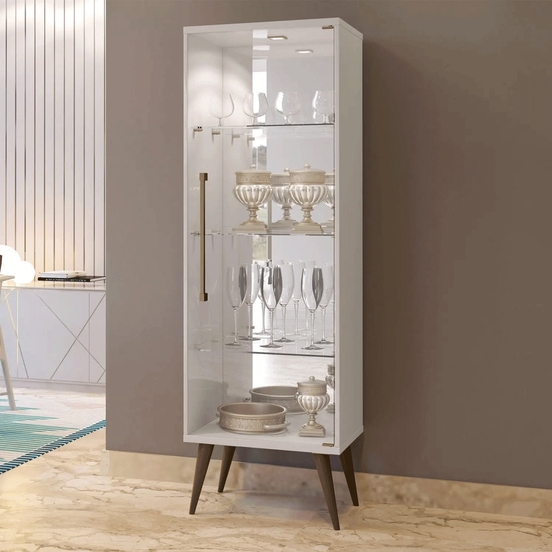 Cristaleira Mavaular Safira Plus 1 Porta