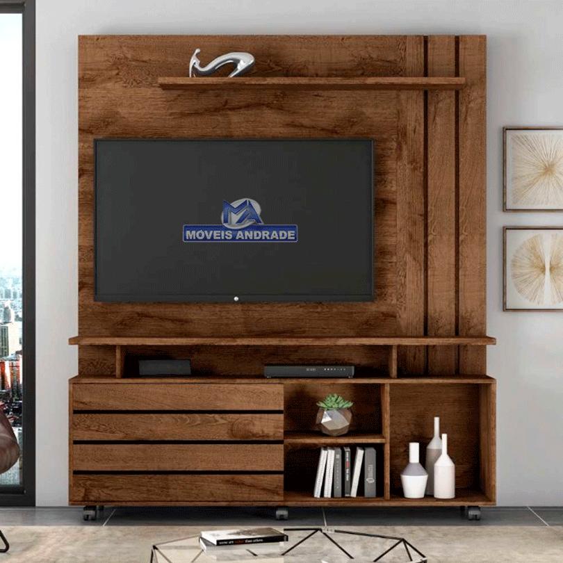 Estante Home  JCM Serrano para TV até 65 polegadas