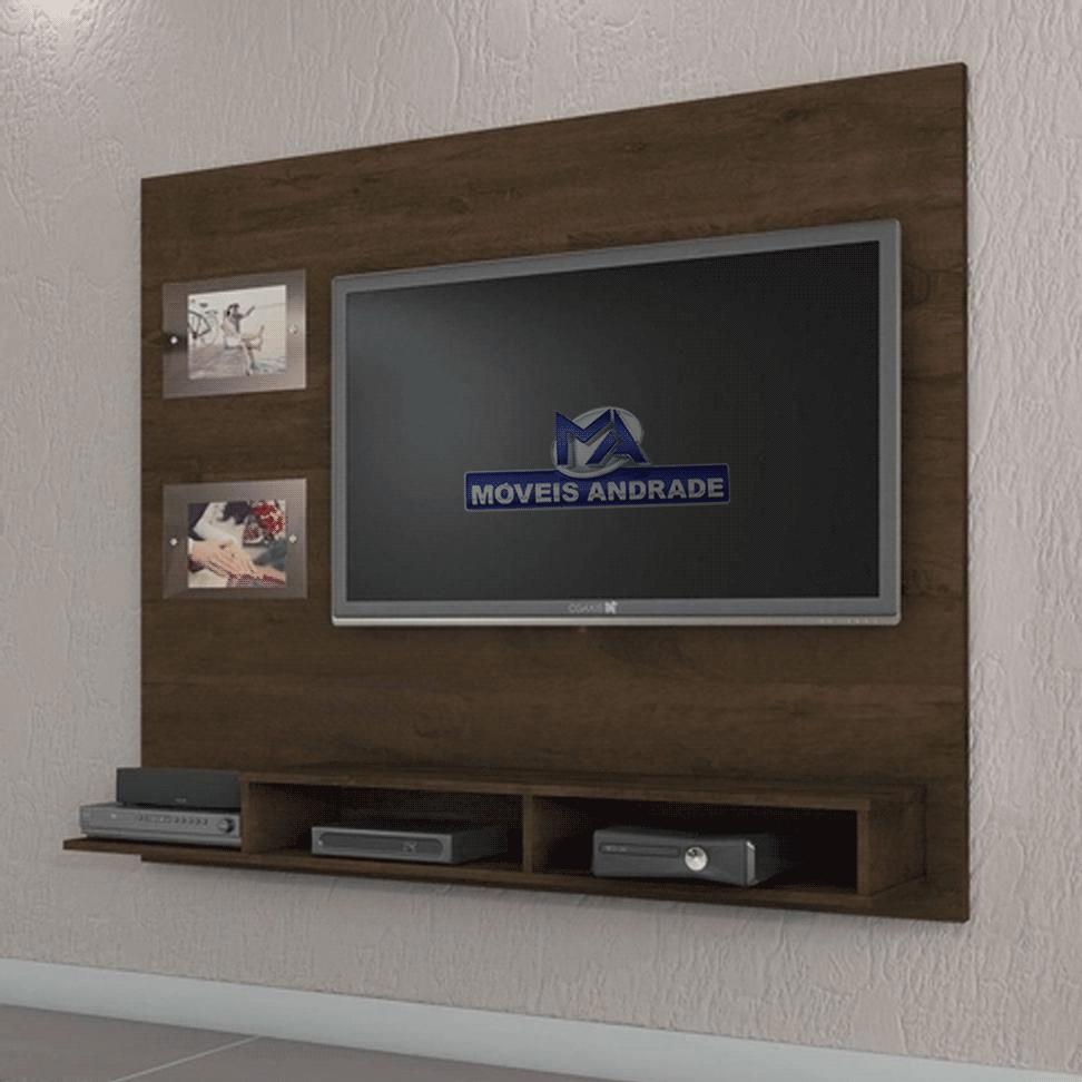 Painel Valdemóveis Hades Para TV Até 46 Polegadas