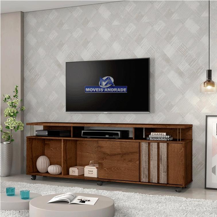 Rack Jcm Atraente Para TV Até 75 Polegadas