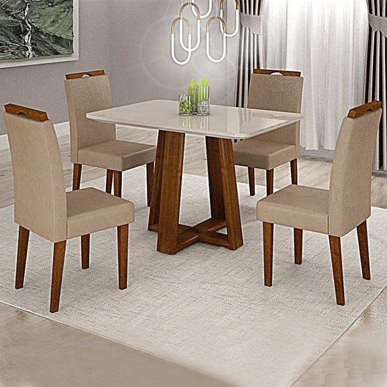 Sala de jantar Valverde Lisboa 4 cadeiras