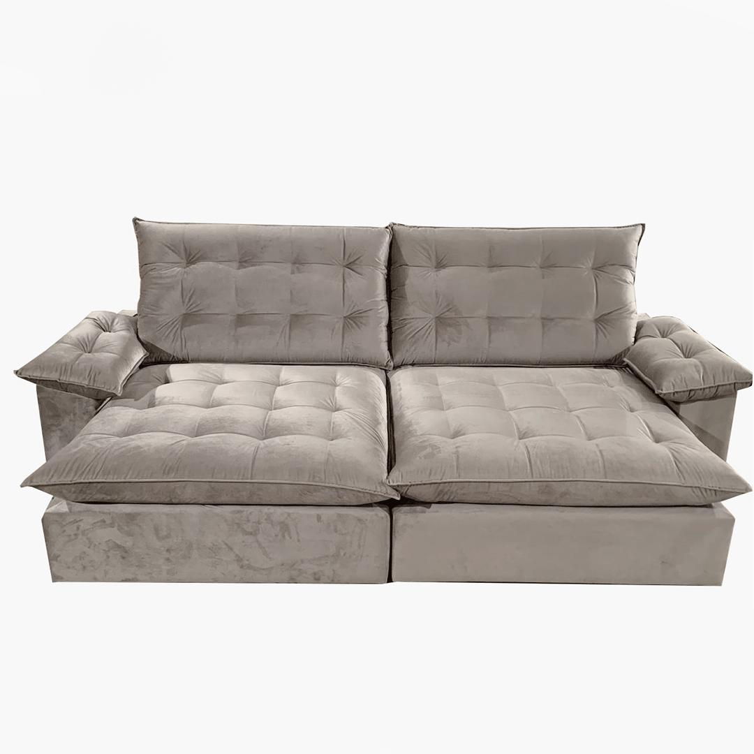 Sofá Retrátil e Reclinável Maguimóveis Luxor 2,50