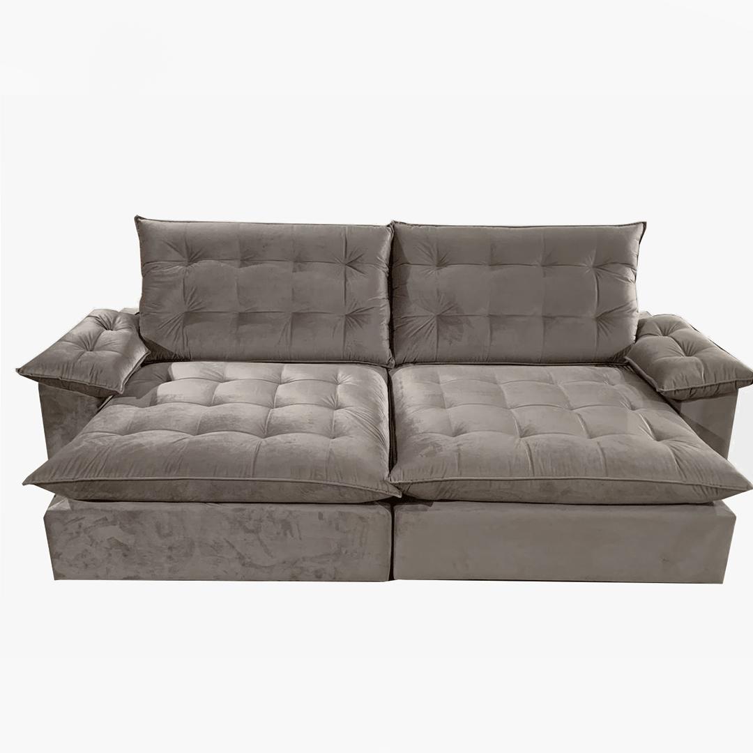 Sofá Retrátil e Reclinável Maguimóveis Luxor 2,90