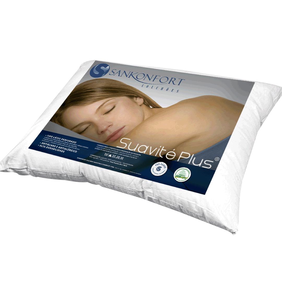 Travesseiro Sankonfort Suavité Plus Branco