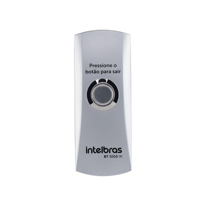 Botão De Saída bt 3000  Inox Com Caixa Intelbras
