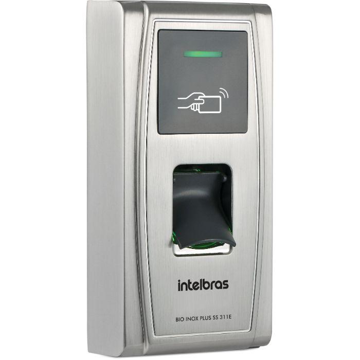 Controlador de acesso SS 311E Bio inox 125 KHz