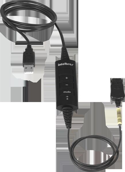 Cordão QDU 20 Conexão USB Intelbras