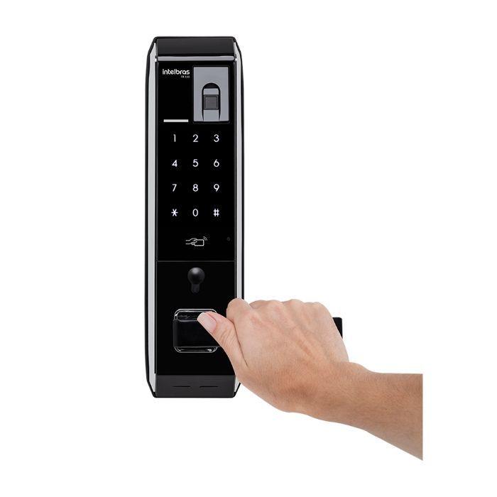 Fechadura Digital FR 330 com biometria Intelbras