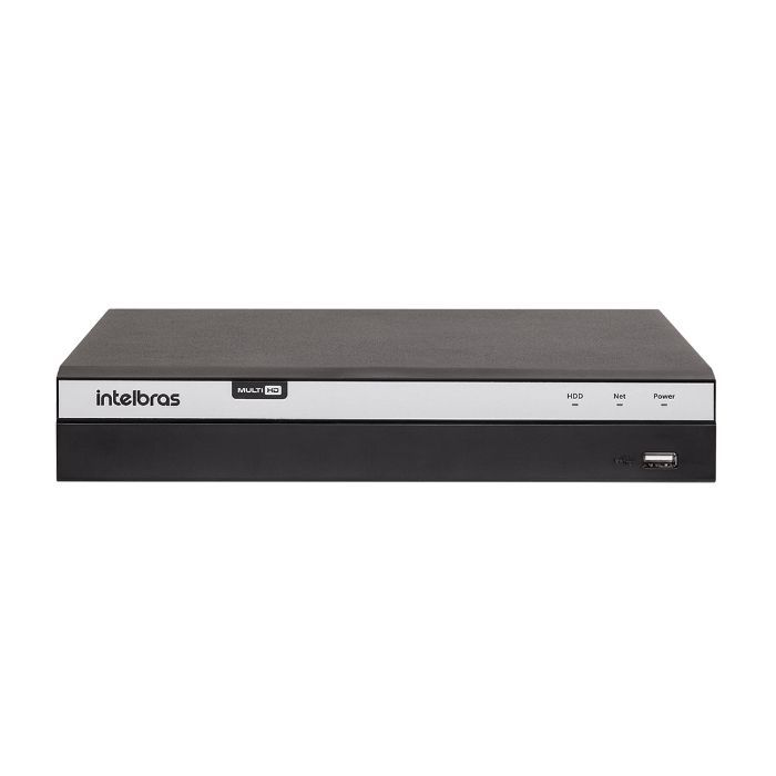 Gravador Digital de Vídeo MHDX 5108 4k Intelbras