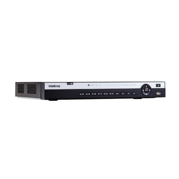 Gravador DVR 4K MHDX 5116 Multi HD Intelbras