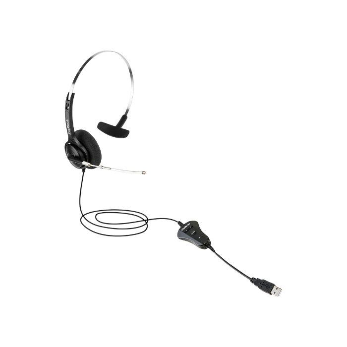 Headset monoauricular USB THS 40 Intelbras