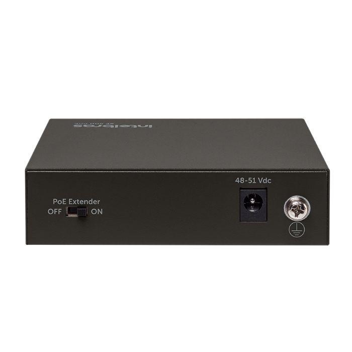 Switch SF 500 4 portas PoE Intelbras