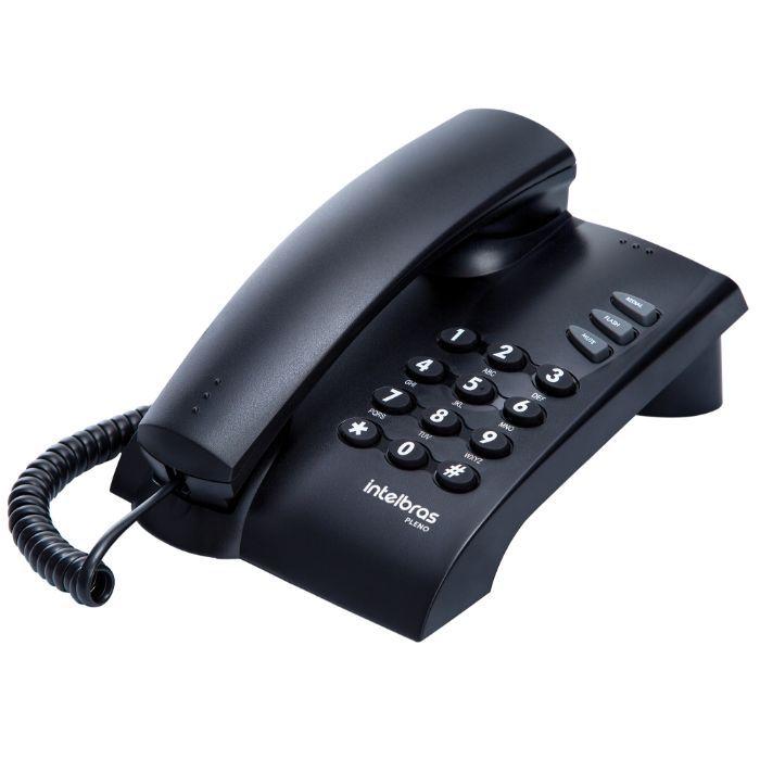 Telefone com fio Pleno Intelbras