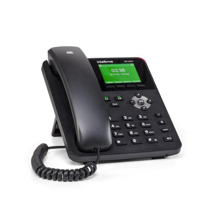 Telefone IP Giga TIP 235G Intelbras