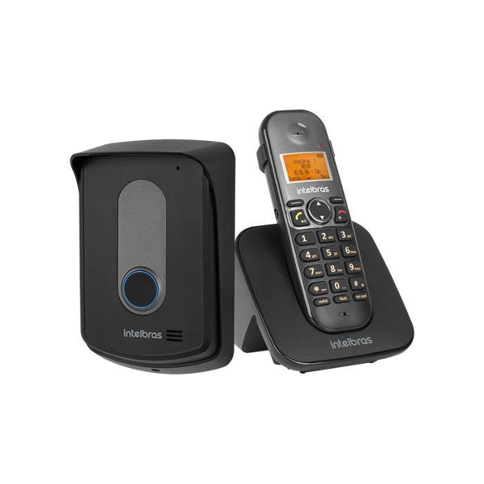 Telefone sem fio TIS 5010 com ramal externo Intelbras