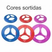 Frisbee Pop Brincalhão - Azul  Rosa   Vermelho