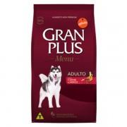 Granplus Menu para Cães Adultos Raças Médias sabor Carne e Arroz 15 KG