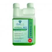 Herbal Pet +20 1L - Desinfetante, Bactericida, Fungicida e Viricida - Rende 500 litros