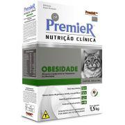 PremieR Nutrição Clínica  Obesidade Gatos - 1,5 kg