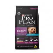 Proplan Nestlé Purina para Cães Adultos Raças Pequenas Exigent Sabor Frango e Arroz 2 kg
