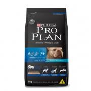 ProPlan para Cães Adultos de Raças Pequenas 7+ Sabor Frango e Arroz 2 kg