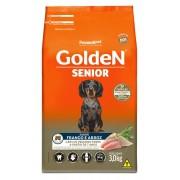 Ração Golden Fórmula Mini Bits Senior para Cães Adultos de Pequeno Porte Sabor Frango e Arroz 3 kg