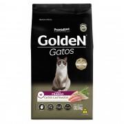 Ração Golden para Gatos Adultos Castrados Sabor Frango 10,1 kg