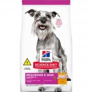 Ração Hill's Science Diet Cães Adultos 7+ Pequenos e Mini 2,4kg