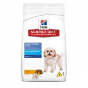 Ração Hills Science Diet Longevidade Ativa Pedaços Pequenos Para Cães Adultos Com Mais De 7 Anos 7,5 kg