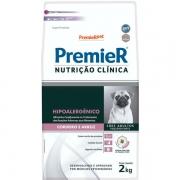 Ração Premier Nutrição Clínica Hipoalergênica de Cordeiro e Arroz para Cães Adultos Porte Pequeno - 2kg