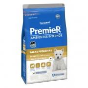 Ração Premier para Cães Filhotes de Raças Pequenas Ambientes Internos Sabor Frango e Salmão 12 kg