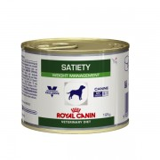 Ração Royal Canin Lata Canine Veterinary Diet Satiety Support Wet para Cães Adultos Obesos 195 g