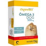 Suplemento Organnact Ômega 3 Dog Blister 500mg