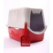 Toalete Duracats Banheiro Para Gatos - Vermelho