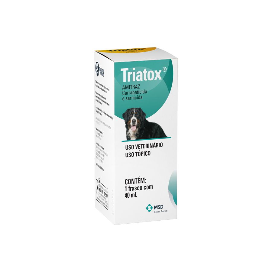 Carrapaticida MSD Triatox - 40 mL