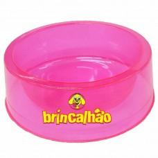 Comedouro Glitter Cristal Rosa 160 ml
