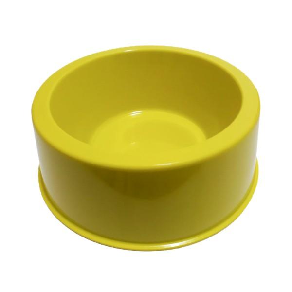 Comedouro Neon Amarelo 300 ml