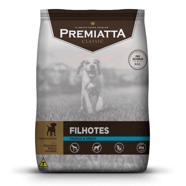 Ração Premiatta Classic para Cães Filhotes de Raças Pequenas, Médias e Grandes 3 kg