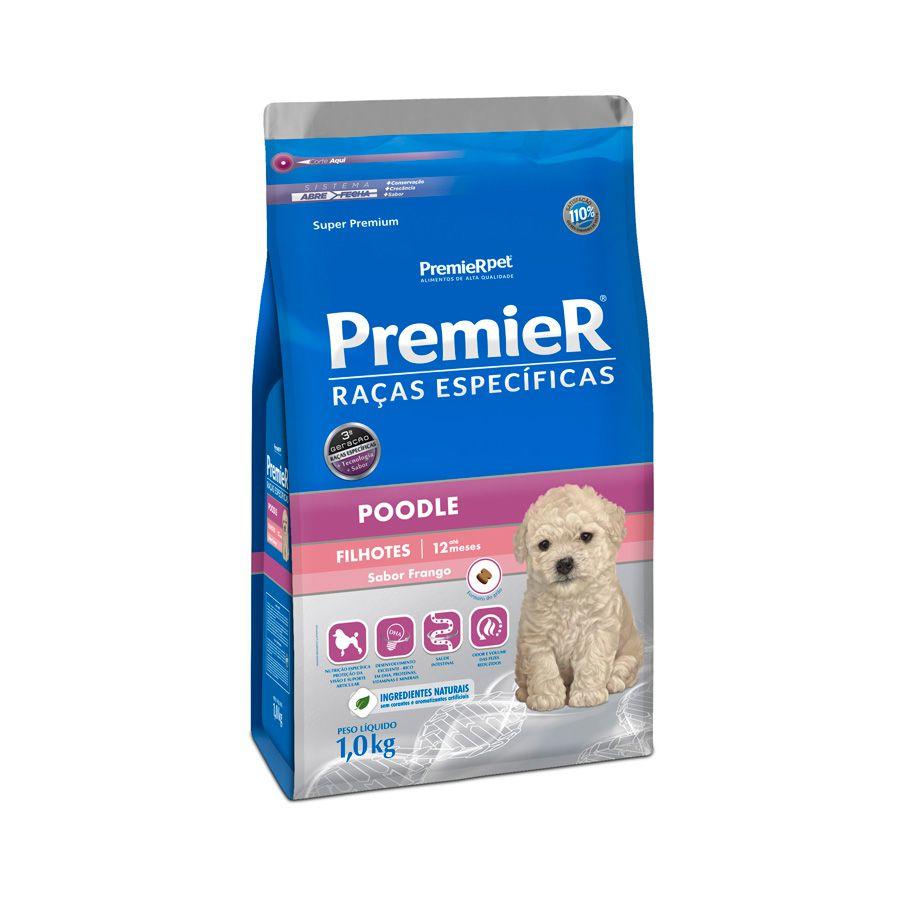 PremieR Raças Específicas  Poodle Cães Filhotes - 1 kg
