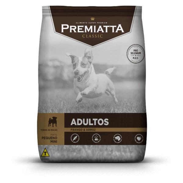 Ração Premiatta Classic Frango e Arroz para Cães Adultos Raça Mini e Pequena 15kg