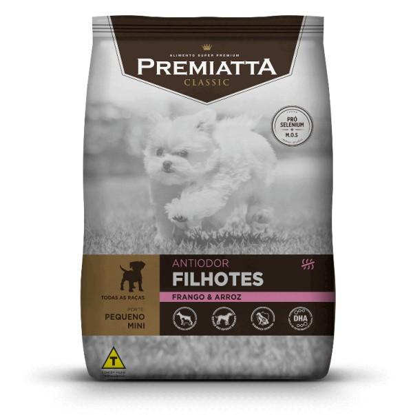 Ração Premiatta Classic para Cães Filhotes Sabor Frango e Arroz 15kg