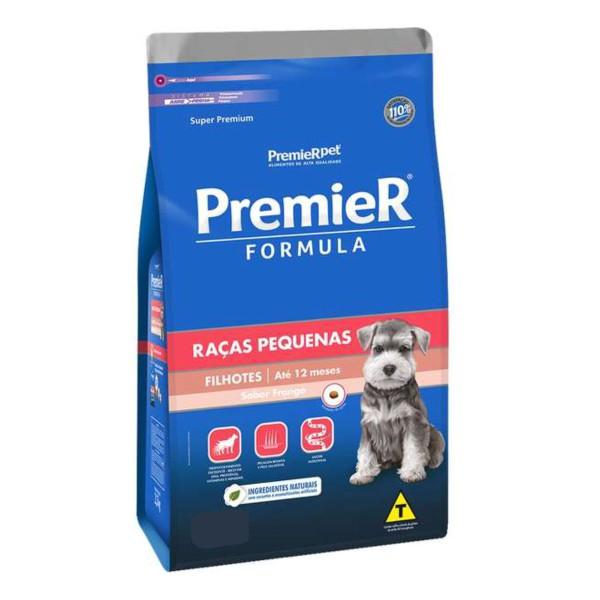 Ração Premier Fórmula para Cães Filhotes de Raças Pequenas Sabor Frango 20 kg