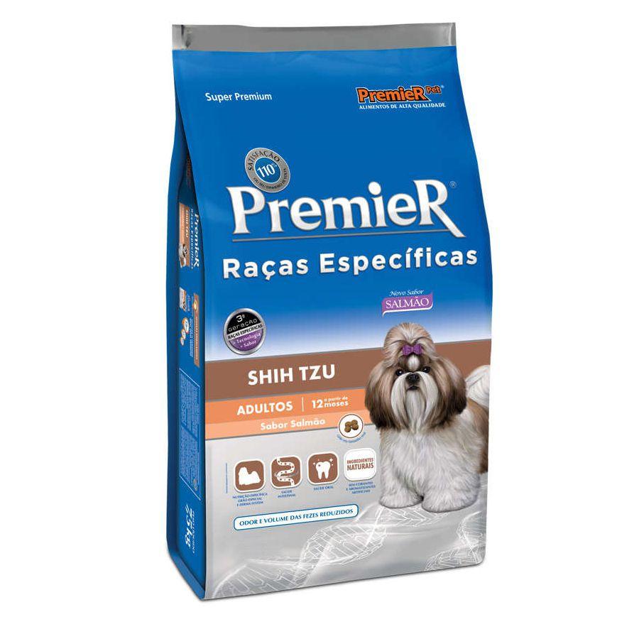 Ração Premier para Cães Adultos Shih Tzu sabor Salmão 2,5kg