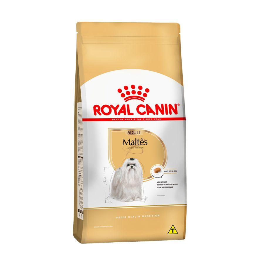 Ração Royal Canin Canine Maltês - Cães Adultos 1,0kg