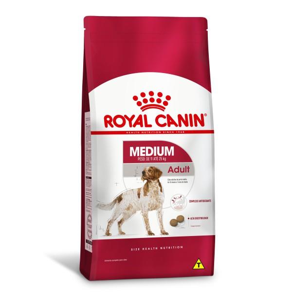 Ração Royal Canin Medium - Cães Adultos 15 kg