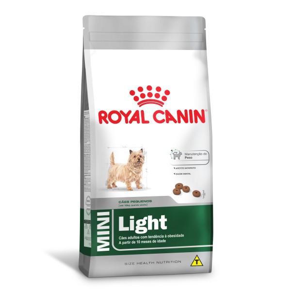 Ração Royal Canin Mini Light - Cães Adultos 1 kg