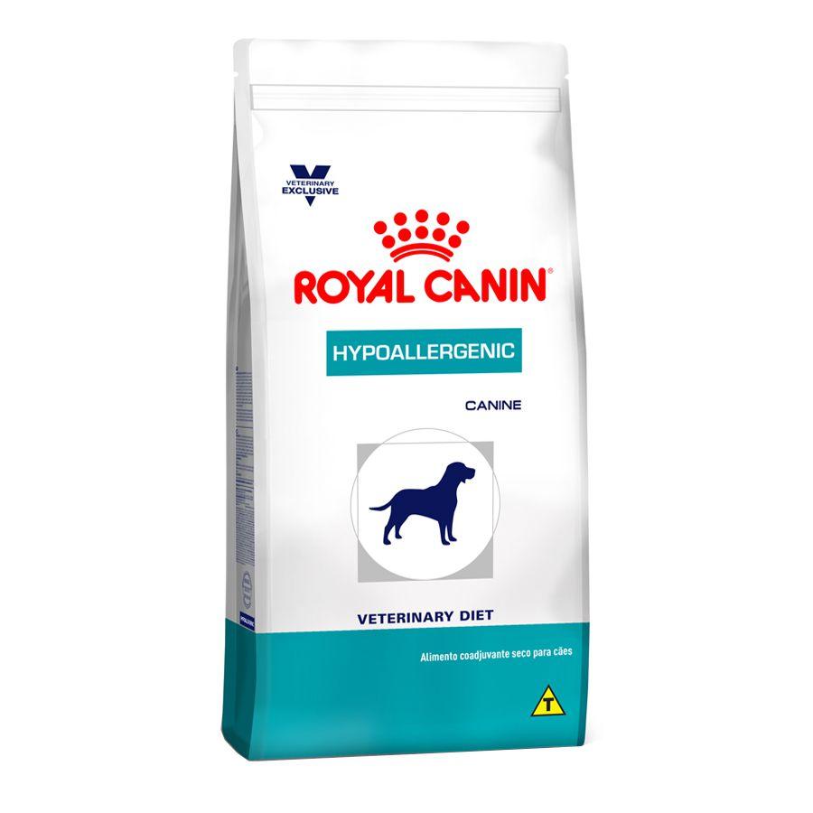 Ração Royal Canin Veterinary Hypoallergenic - Cães Adultos 2kg